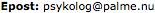 Epost: (gunborgs-förnamn) (snabel-a-tecknet) (gunborgs-eftenamn).nu